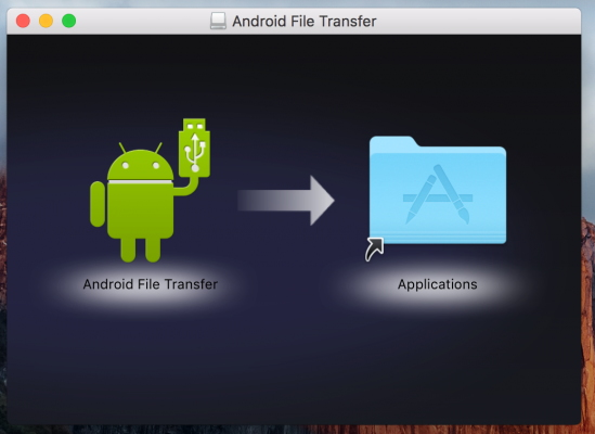 Here is the step-by-step guide on how to send videos from Android to Mac using Android File Transfer: